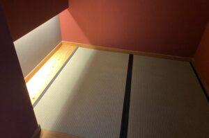 富山県 KOTELO(旧立山芦峅小学校)畳スペース