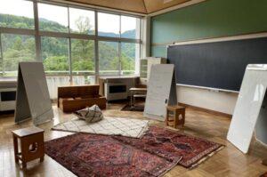 富山県 KOTELO(旧立山芦峅小学校)ミーティングスペース