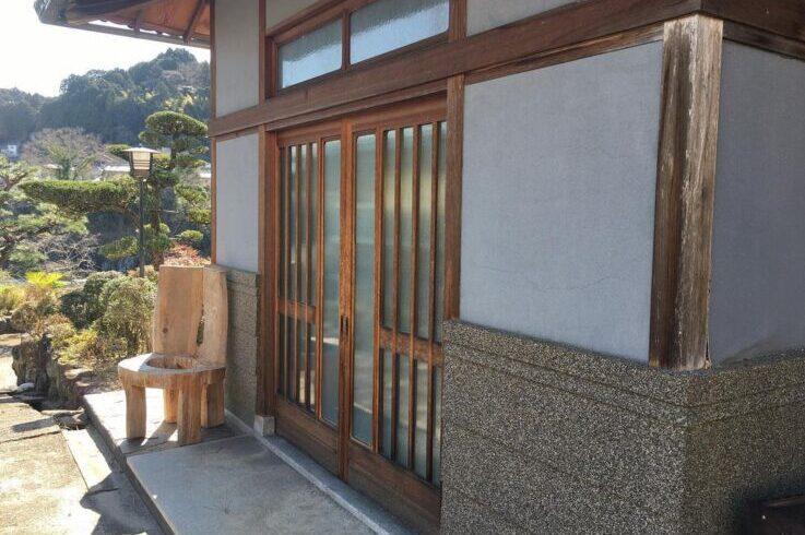 奈良県 吉野 ゲストハウス大淀 エントランス