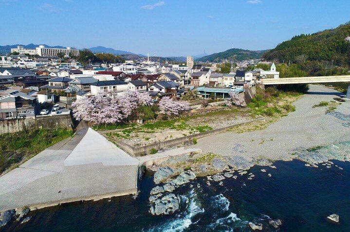 奈良県 吉野 ゲストハウス大淀 空撮