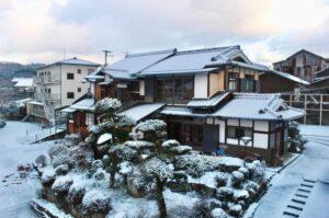 奈良県 吉野 ゲストハウス大淀 雪