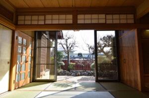 埼玉県 秩父 猿楽庵 和室